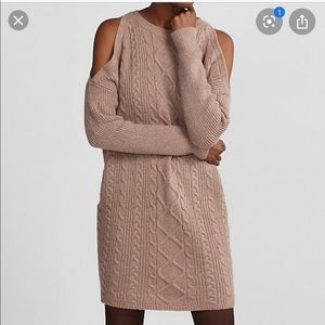 Cable knit Sweater Dress by Express